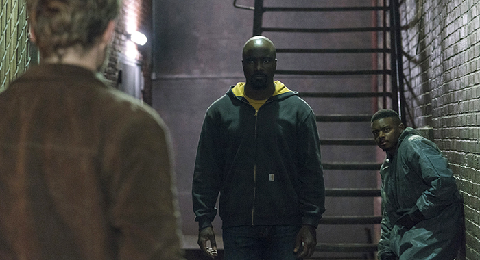 DESCRIPTION Marvel's The Defenders SEASON Season 1 EPISODE 2 PHOTO CREDIT Sarah Shatz/Netflix PICTURED Finn Jones, Mike Colter, J. Mallory McCree