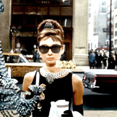 BREAKFAST AT TIFFANY'S, Audrey Hepburn, 1961 (Paramount Pictures)
