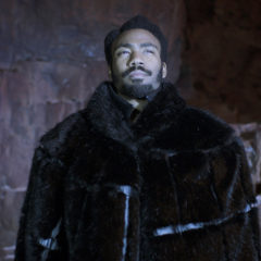 SOLO: A STAR WARS STORY, Donald Glover as Lando Calrissian, 2018. © Lucasfilm/ © Walt Disney Studios Motion Pictures/courtesy Everett Collection