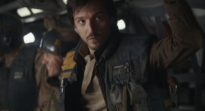 Rogue One: A Star Wars Story: Diego Luna as Cassian Andor (Walt Disney Pictures)