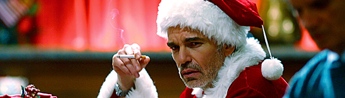 BAD SANTA, Billy Bob Thornton, 2003, (c) Dimension Films/Everett Collection