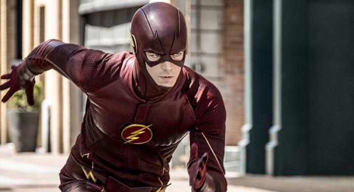 "The Flash -- ""Nora"" -- Image Number: FLA501b_0004b.jpg -- Pictured: Grant Gustin as The Flash -- Photo: Katie Yu/The CW"