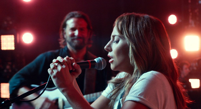 "(L-R) BRADLEY COOPER as Jack and LADY GAGA as Ally in the drama ""A STAR IS BORN,"" from Warner Bros. Pictures, in association with Live Nation Productions and Metro Goldwyn Mayer Pictures, a Warner Bros. Pictures release. Photo Credit: Courtesy of Warner Bros. Pictures"