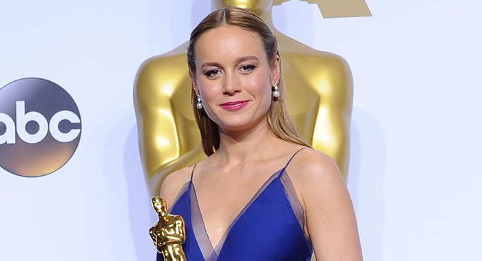Brie Larson, WINNER: Best Performance by an Actress in a Leading Role for ROOM in the press room for The 88th Academy Awards Oscars 2016 - Press Room, The Dolby Theatre at Hollywood and Highland Center, Los Angeles, CA February 28, 2016. Photo By: Elizabeth Goodenough/Everett Collection