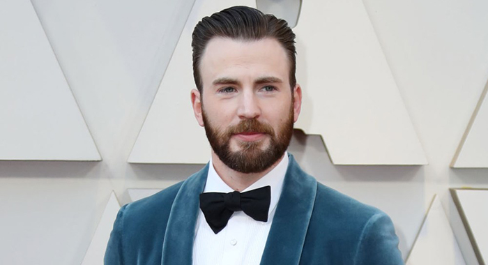 Chris Evans at arrivals , The 91st Academy Awards - Arrivals, The Dolby Theatre at Hollywood and Highland Center, Los Angeles, CA, United States February 24, 2019. (Photo by: Jef Hernandez/Everett Collection) at arrivals for The 91st Academy Awards - Arrivals, The Dolby Theatre at Hollywood and Highland Center, Los Angeles, CA February 24, 2019. Photo By: Jef Hernandez/Everett Collection