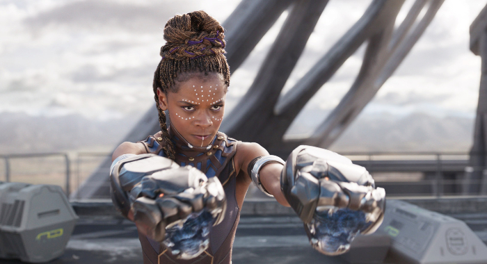 Letitia Wright as Shuri (Marvel/Walt Disney Studios Motion Pictures)