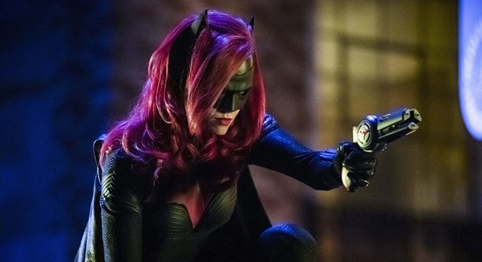 """Arrow -- """"Elseworlds, Part 2"""" -- Image Number: AR709d_0413b -- Pictured: Ruby Rose as Kate Kane/Batwoman -- Photo: Jack Rowand/The CW"""
