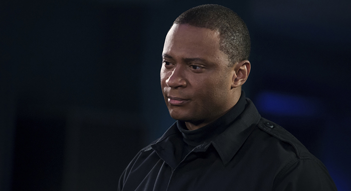 "Arrow -- ""Due Process"" -- Image Number: AR706B_0115b -- Pictured: David Ramsey as John Diggle/Spartan -- Photo: Diyah Pera/The CW"