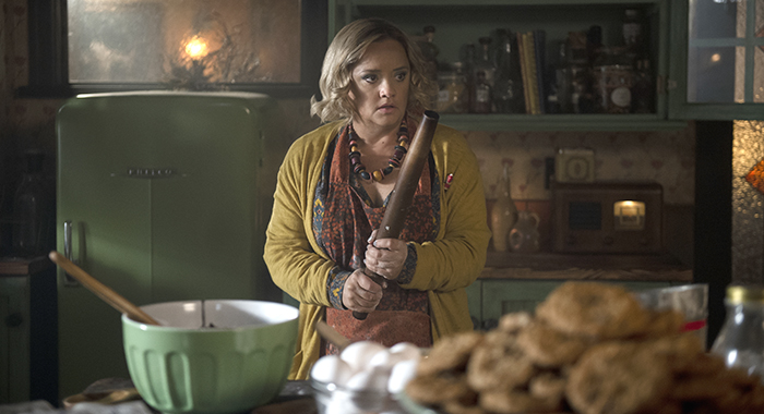 "Lucy Davis in ""Chilling Adventures of Sabrina: A Midwinter's Tale"" Credit: Diyah Pera/Netflix"