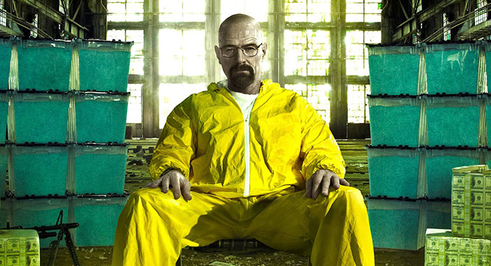 Bryan Cranston stars in Breaking Bad (AMC)