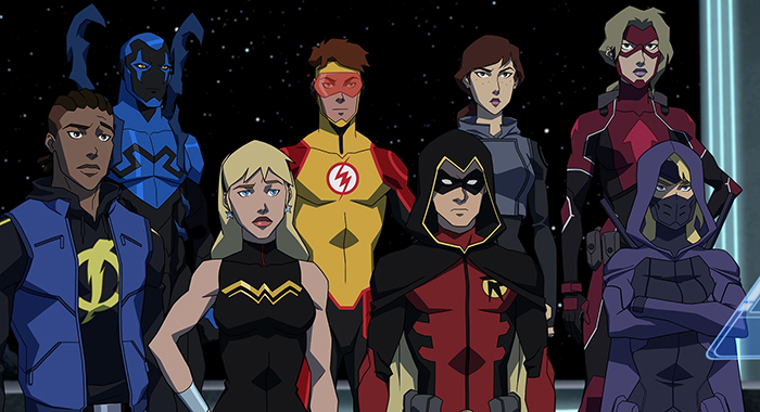 Young Justice: Outsiders. Credit: DC Universe