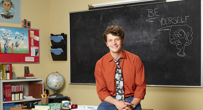 "SCHOOLED – ABC's ""Schooled"" stars Brett Dier as Charlie Brown. (ABC/Craig Sjodin)"