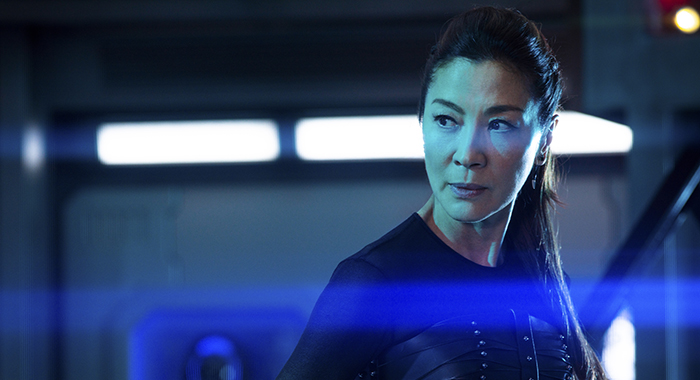 Michelle Yeoh as Georgiou of the CBS All Access series STAR TREK: DISCOVERY. Photo Cr: James Dimmock/CBS