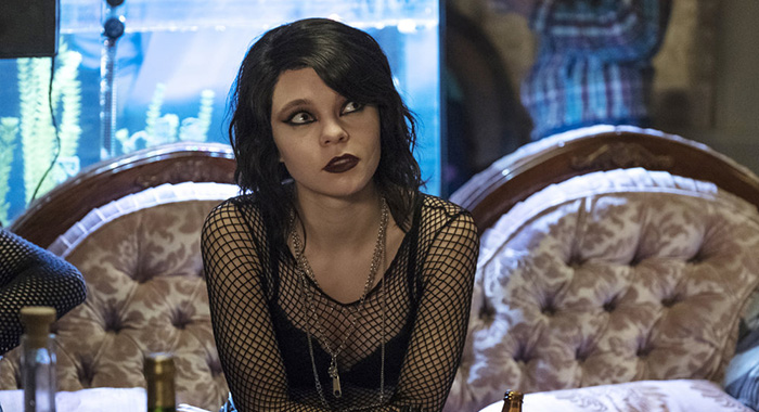 "DEADLY CLASS -- ""Noise, Noise, Noise"" Episode 101 -- Pictured: Taylor Hickson as Petra -- (Photo by: Katie Yu/SYFY)"