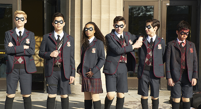 The Umbrella Academy Credit: Netflix
