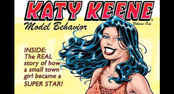 Katy Keene cover art (Archie Comics)