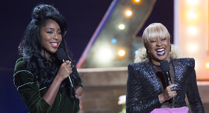 Jessica Williams, Phoebe Robinson in 2 Dope Queens Credit: Mindy Tucker/HBO
