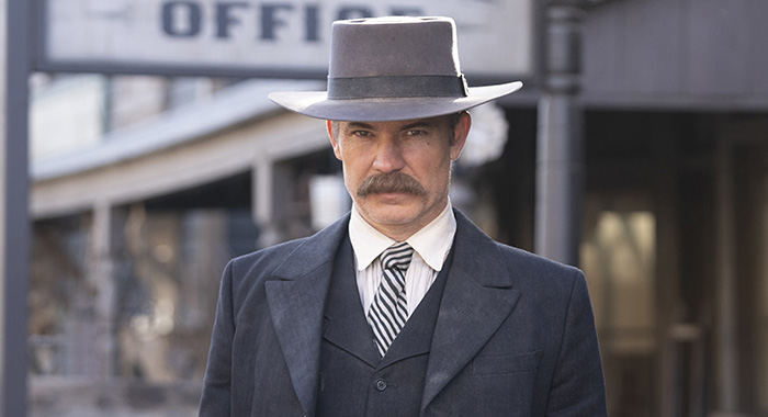 Deadwood stars Timothy Olyphant as Seth Bullock (Warrick Page/HBO)