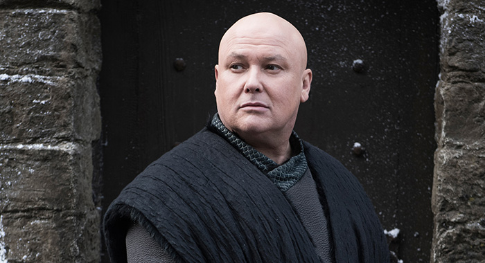 Conleth Hill as Varys in Game of Thrones season 8 (Helen Sloan/HBO)