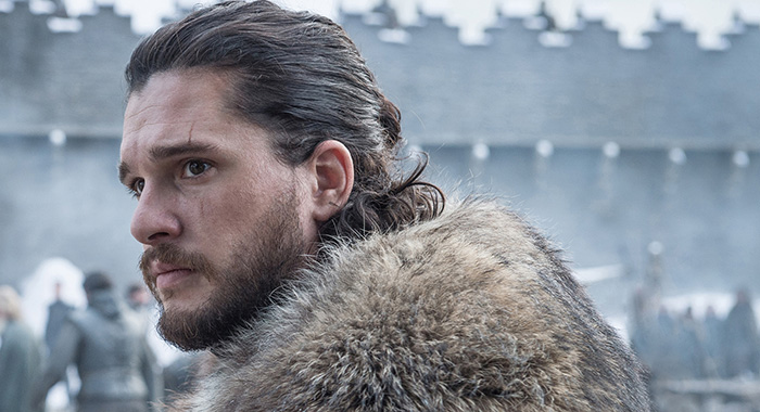 Kit Harington as Jon Snow in Game of Thrones season 8 (Helen Sloan/HBO)
