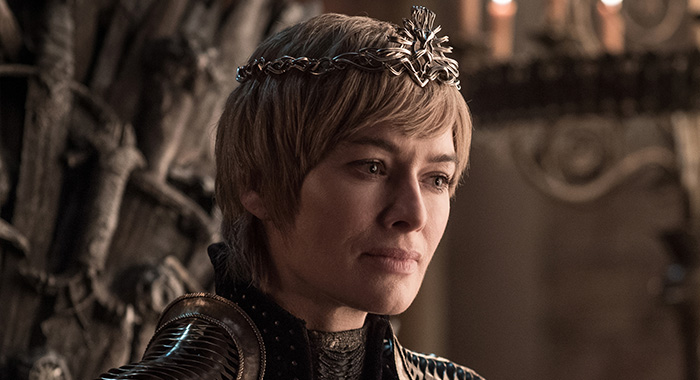 Lena Headey as Cersei Lannister in Game of Thrones season 8 (Helen Sloan/HBO)