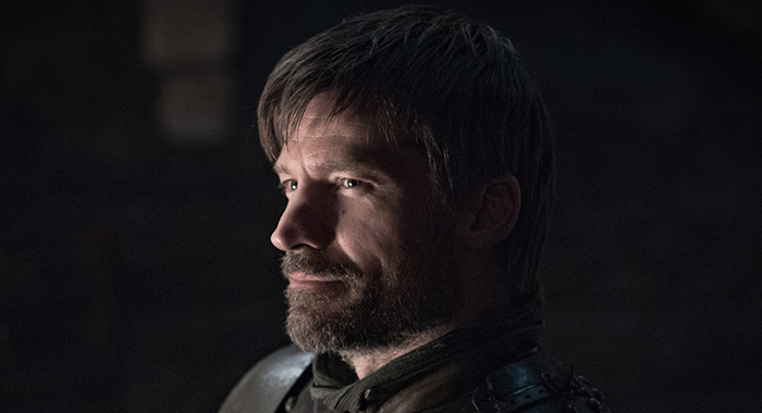 Nikolaj Coster-Waldau as Jaime Lannister in Game of Thrones season 8 (Helen Sloan/HBO)