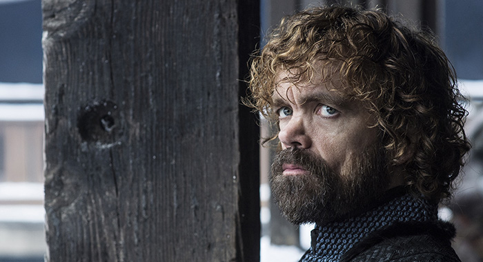 Peter Dinklage as Tyrion Lannister in Game of Thrones season 8 (Helen Sloan/HBO)