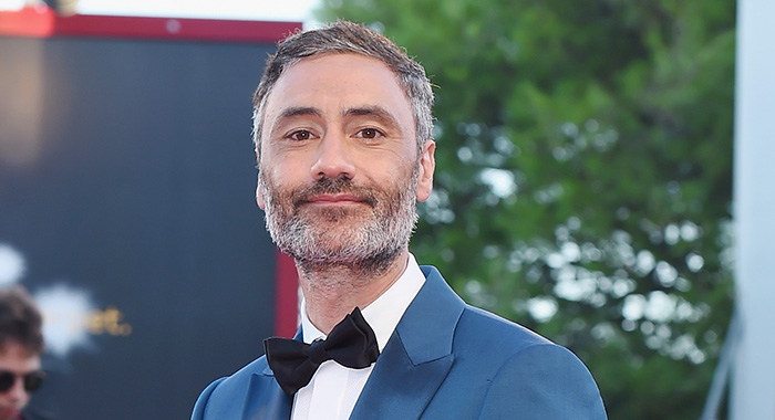 VENICE, ITALY - SEPTEMBER 08: Taika Waititi walks the red carpet ahead of the Award Ceremony during the 75th Venice Film Festival at Sala Grande on September 8, 2018 in Venice, Italy. (Photo by Stefania D'Alessandro/WireImage)