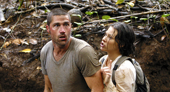 LOST, Matthew Fox, Evangeline Lilly, 'All The Best Cowboys Have Daddy Issues', (Season 1, epis. #111), 2004-2010. Photo: Mario Perez/ABC/Courtesy Everett Collection