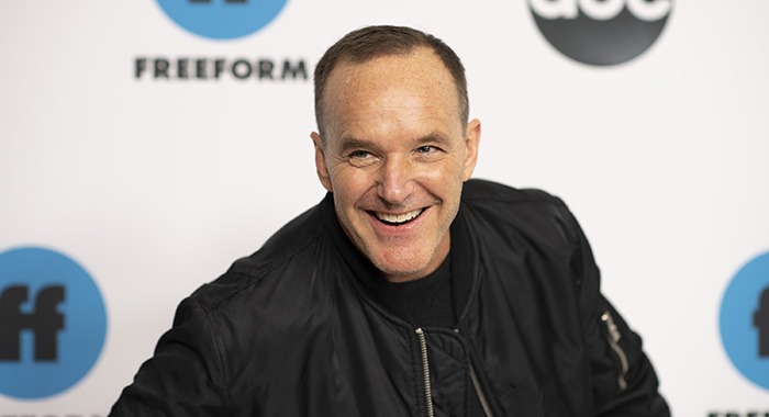 2019 TCA WINTER PRESS TOUR - Talent, executives and showrunners from ABC and Freeform series arrived at the 2019 TCA Winter Press Tour carpet, at The Langham Huntington, in Pasadena, California. (ABC/Image Group LA) CLARK GREGG