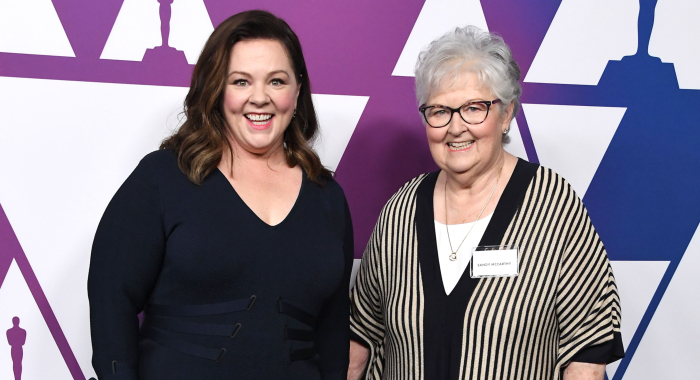 Melissa McCarthy and mom Sandra