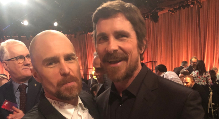 Sam Rockwell and Christian Bale