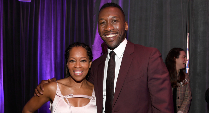 Regina King and Mahershala Ali