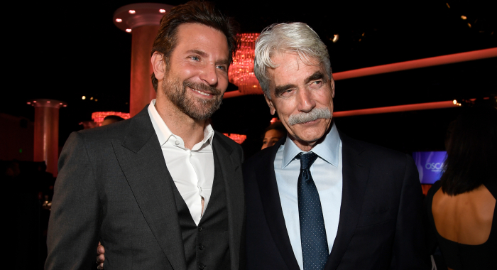 Bradley Cooper and Sam Elliott