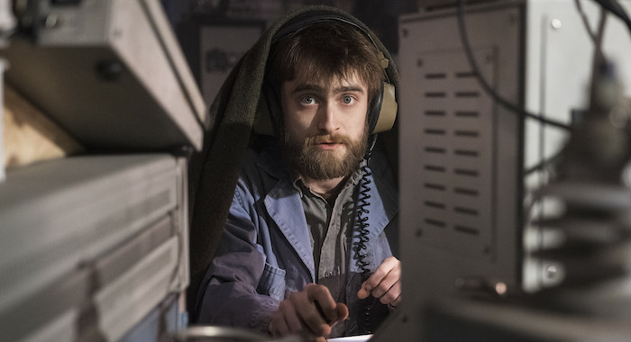 "Miracle Workers Episode 101: ""2 WEEKS"" Daniel Radcliffe Photo by Curtis Baker/TBS"