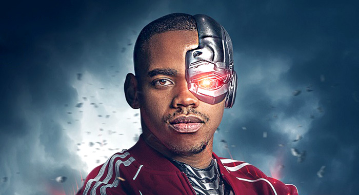 Doom Patrol Cyborg poster (2018 Warner Bros Entertainment Inc. All Rights Reserved.)