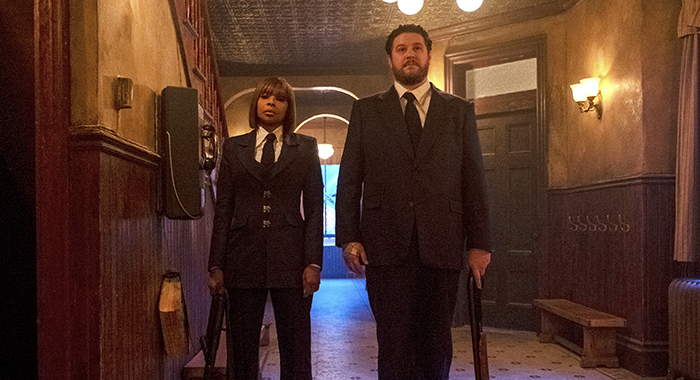 Mary J. Blige, Cameron Britton in The Umbrella Academy (Christos Kalohoridis/Netflix)