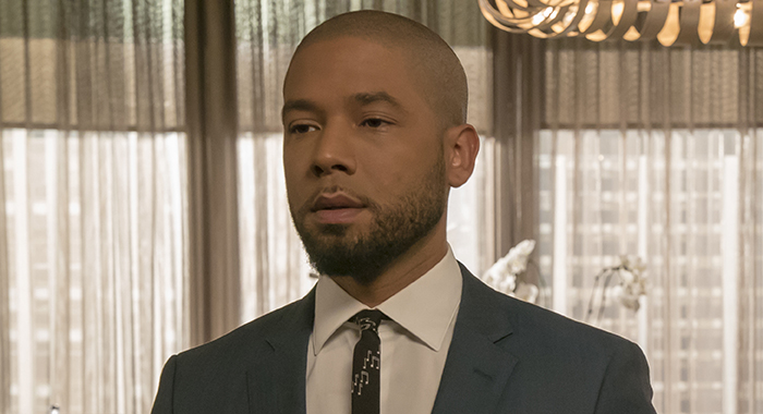 "EMPIRE: L-R: Jussie Smollett in the ""Pride"" episode of EMPIRE airing Wednesday, Oct. 10 (8:00-9:00 PM ET/PT) on FOX. ©2018 Fox Broadcasting Co. CR: Chuck Hodes/FOX"