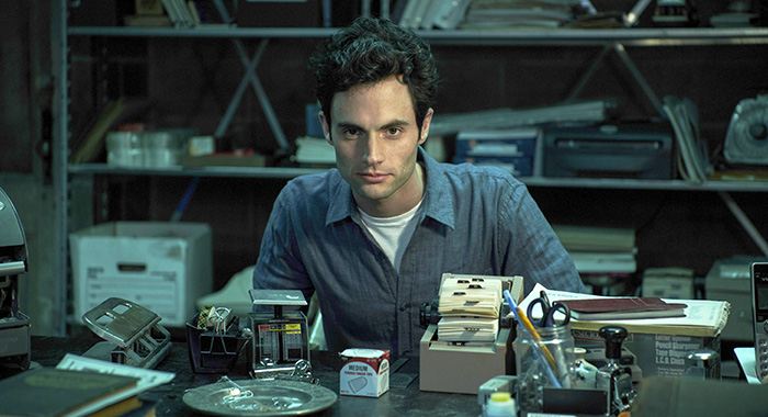 Penn Badgley stars in Lifetime's new series YOU, premiering Sunday, September 9, 2018 at 10pm ET/PT. Photo Credit: Lifetime