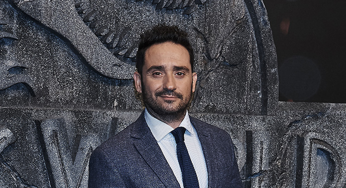 J. A. Bayona attends the 'Jurassic World: Fallen Kingdom' premiere at Wizink Center in Madrid on May 21, 2018 (Photo by Gabriel Maseda/NurPhoto via Getty Images)