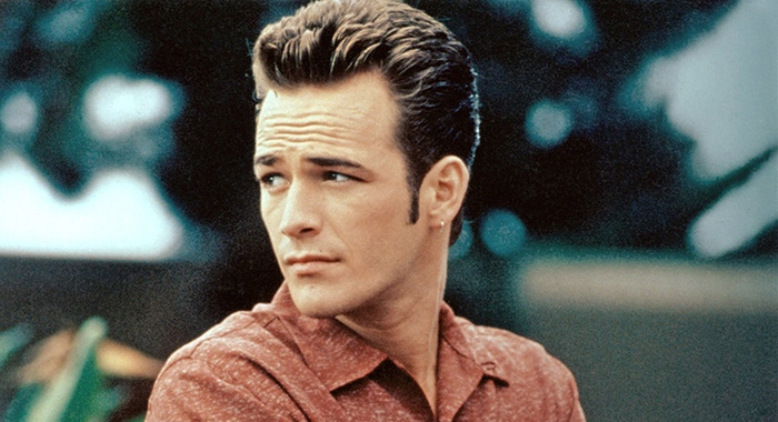 BEVERLY HILLS 90210, Luke Perry, 1990-2000. © Aaron Spelling Prod./Courtesy Everett Collection