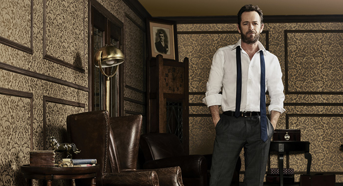Riverdale -- Pictured: Luke Perry -- Photo: Christopher Fragapane/The CW
