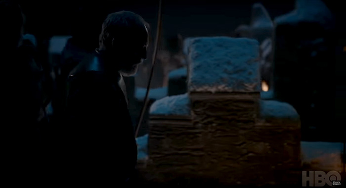 Liam Cunningham as Davos Seaworth in Game of Thrones season 8 trailer screencap (HBO)