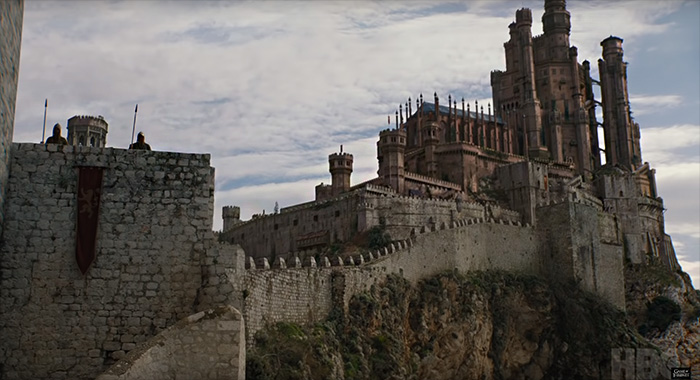 King's Landing in Game of Thrones season 8 trailer screencap (HBO)