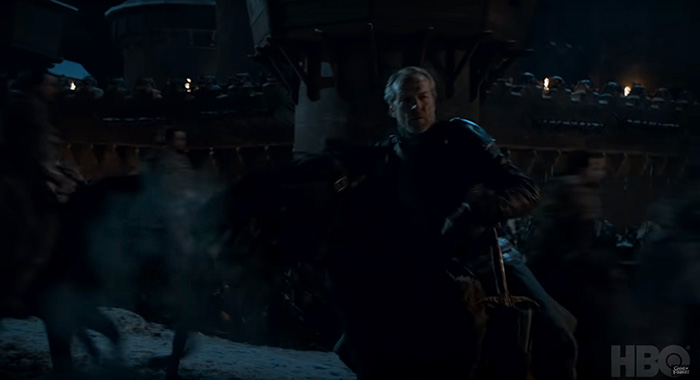 Iain Glen as Jorah Mormont in Game of Thrones season 8 trailer screencap (HBO)