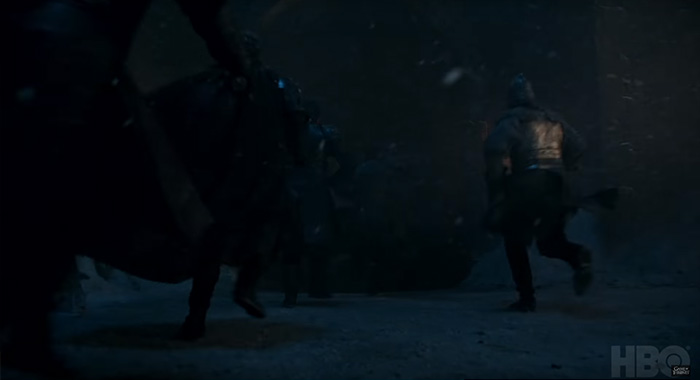 soldiers in Game of Thrones season 8 trailer screencap (HBO)