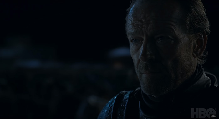 Jorah Mormont Game of Thrones season 8 trailer screencap (HBO)