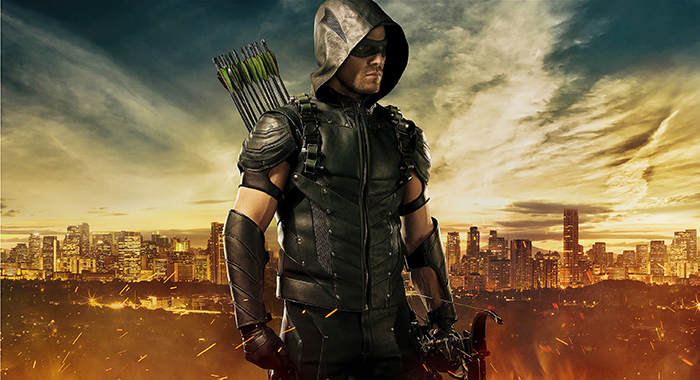 Arrow -- Image Number: ARR_S4_FIRST_LOOK_V4 -- Pictured: Stephen Amell as The Arrow -- Photo: JSquared Photography/The CW