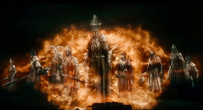 THE HOBBIT: THE BATTLE OF THE FIVE ARMIES, screencap, 2014. ©Warner Bros.