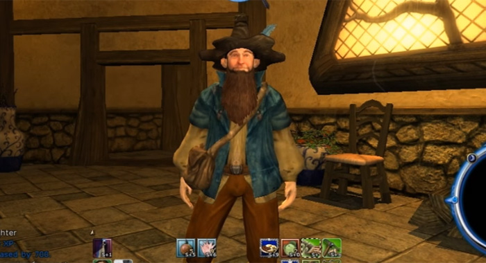 Lord of the Rings Online (video game screencap) Tom Bombadil (Daybreak Game Company)